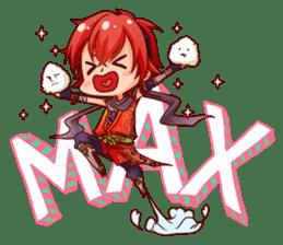 Cute Ninja - Japanese Anime sticker #4276041