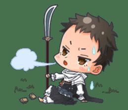Cute Ninja - Japanese Anime sticker #4276045