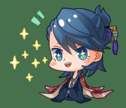 Cute Ninja - Japanese Anime sticker #4276046