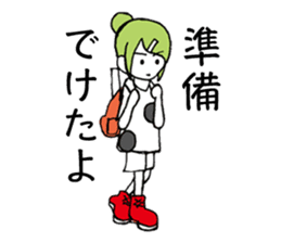 "JAPANESE GIRL ""ROKOKO"" sticker #4278265"