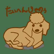 Hiroshima Dog Returns sticker #4278625