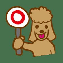 Hiroshima Dog Returns sticker #4278626