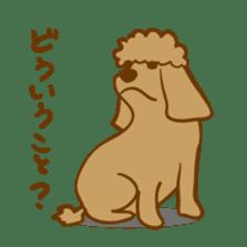Hiroshima Dog Returns sticker #4278637