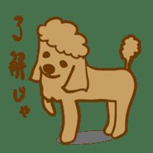 Hiroshima Dog Returns sticker #4278640