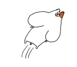 Greedy hamster sticker #4278693
