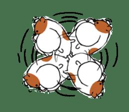 Greedy hamster sticker #4278696