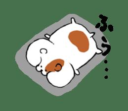 Greedy hamster sticker #4278713