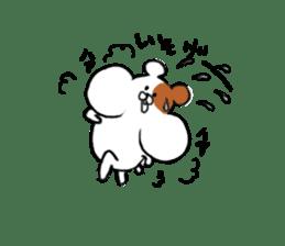 Greedy hamster sticker #4278716