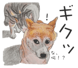 Favorite parts of SHIBAINU 2 sticker #4279365
