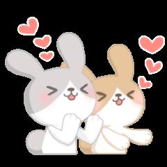 Good friend rabbit.