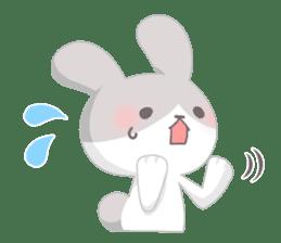 Good friend rabbit. sticker #4281500