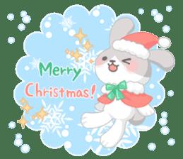 Good friend rabbit. sticker #4281502