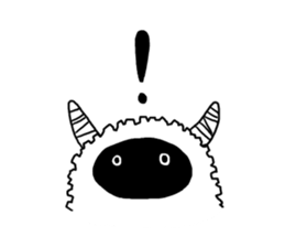 Child such as the sheep sticker #4297585