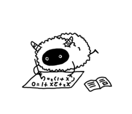 Child such as the sheep sticker #4297594