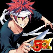 สติ๊กเกอร์ไลน์ Food wars! SHOKUGEKI NO SOMA J50th