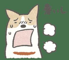 Lazy-dog's excuses sticker #4301554