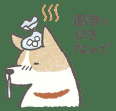 Lazy-dog's excuses sticker #4301556