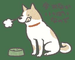 Lazy-dog's excuses sticker #4301562