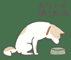 Lazy-dog's excuses sticker #4301563