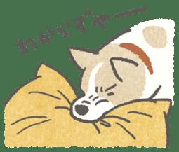 Lazy-dog's excuses sticker #4301571