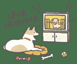 Lazy-dog's excuses sticker #4301573