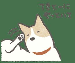 Lazy-dog's excuses sticker #4301574