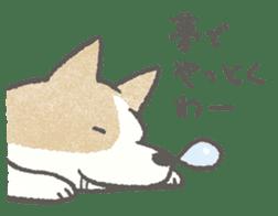Lazy-dog's excuses sticker #4301577