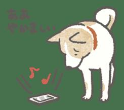 Lazy-dog's excuses sticker #4301581