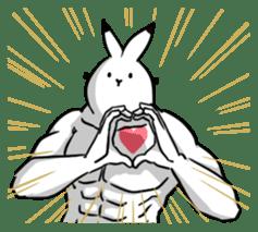 south pole rabbit Lv5 sticker #4302071