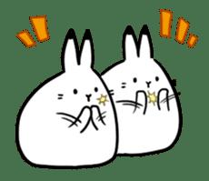 south pole rabbit Lv5 sticker #4302078