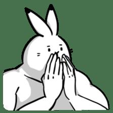 south pole rabbit Lv5 sticker #4302093