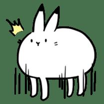 south pole rabbit Lv5 sticker #4302100