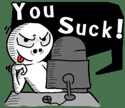 Gamer Sticker sticker #4306920