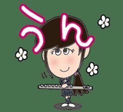Wind & instruments love sticker #4310345
