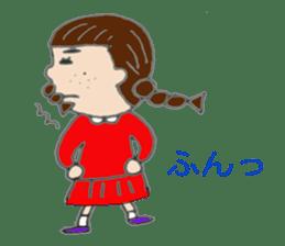 I'm Osage girl !! sticker #4310835