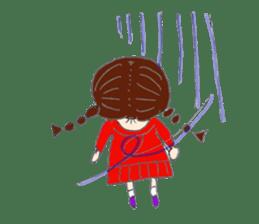 I'm Osage girl !! sticker #4310859