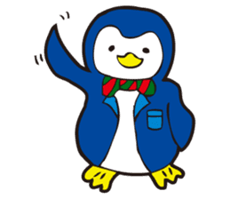 Gentle Penguin sticker #4319744