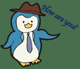 Gentle Penguin sticker #4319745