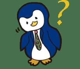 Gentle Penguin sticker #4319747