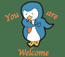 Gentle Penguin sticker #4319750