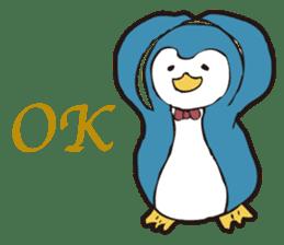 Gentle Penguin sticker #4319752