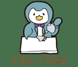 Gentle Penguin sticker #4319756