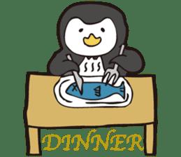 Gentle Penguin sticker #4319757