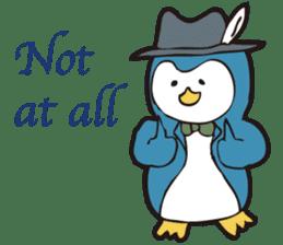 Gentle Penguin sticker #4319768