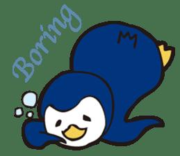 Gentle Penguin sticker #4319770