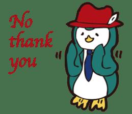 Gentle Penguin sticker #4319775