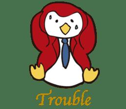 Gentle Penguin sticker #4319776