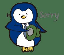Gentle Penguin sticker #4319777