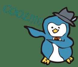 Gentle Penguin sticker #4319778