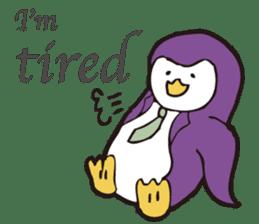 Gentle Penguin sticker #4319781